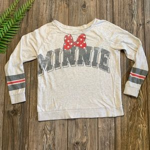 Women's Disney Minnie Mouse Sweater Size Large